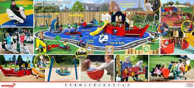 Komplan - Younger children's area